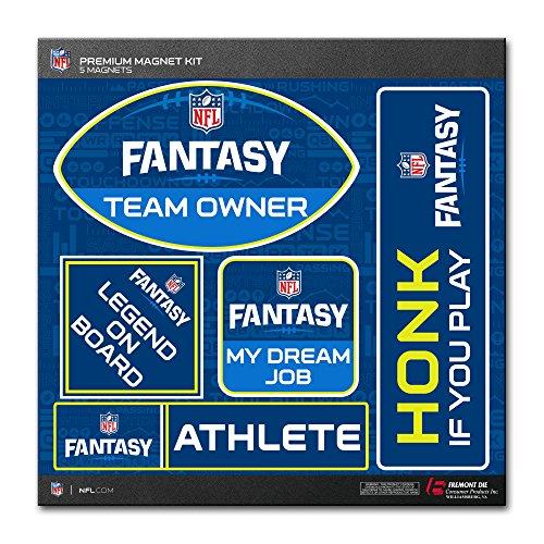 Fremont Die NFL Fantasy Football Magnet Kit (5 Piece), Fantasy, 12