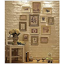 ABM Home Multi Picture Photo Frame Set, Wall Frame Set, Large photo frame wall set, Home and Wall Decorations, Vintage Picture Frames, gallery wall frame set (RD13)