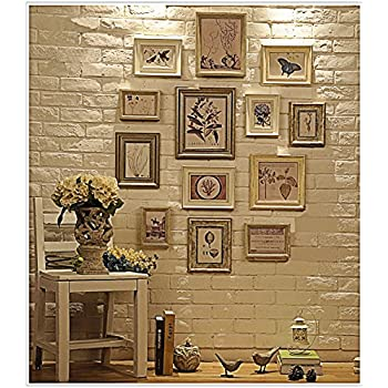 Amazon.com - Multi Picture Photo Frame Set, Wall Frame Set, Large ...