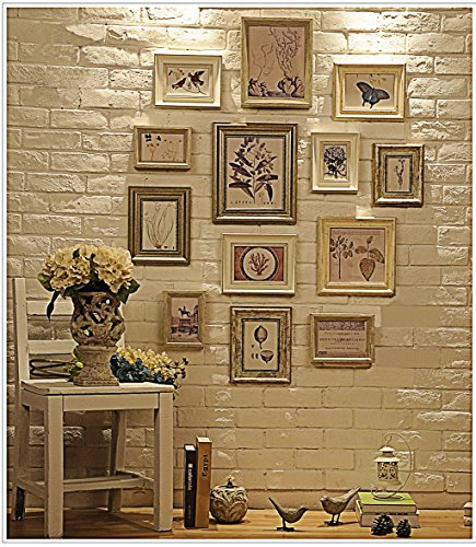 Multi Picture Photo Frame Set, Wall Frame Set, Large photo frame wall set, Home and Wall Decorations, Vintage Picture Frames, gallery wall frame set (RD13) (Vintage Photo Frames)