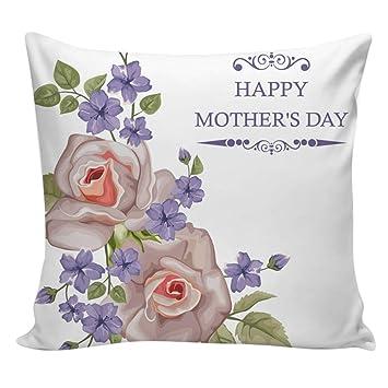Amazon.com: OTTATAT Happy Mother Day - Funda de almohada de ...