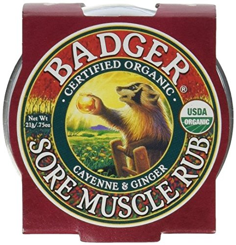 Badger Sore Muscle Rub - Cayenne & Ginger - 2 oz. - 2 Pack