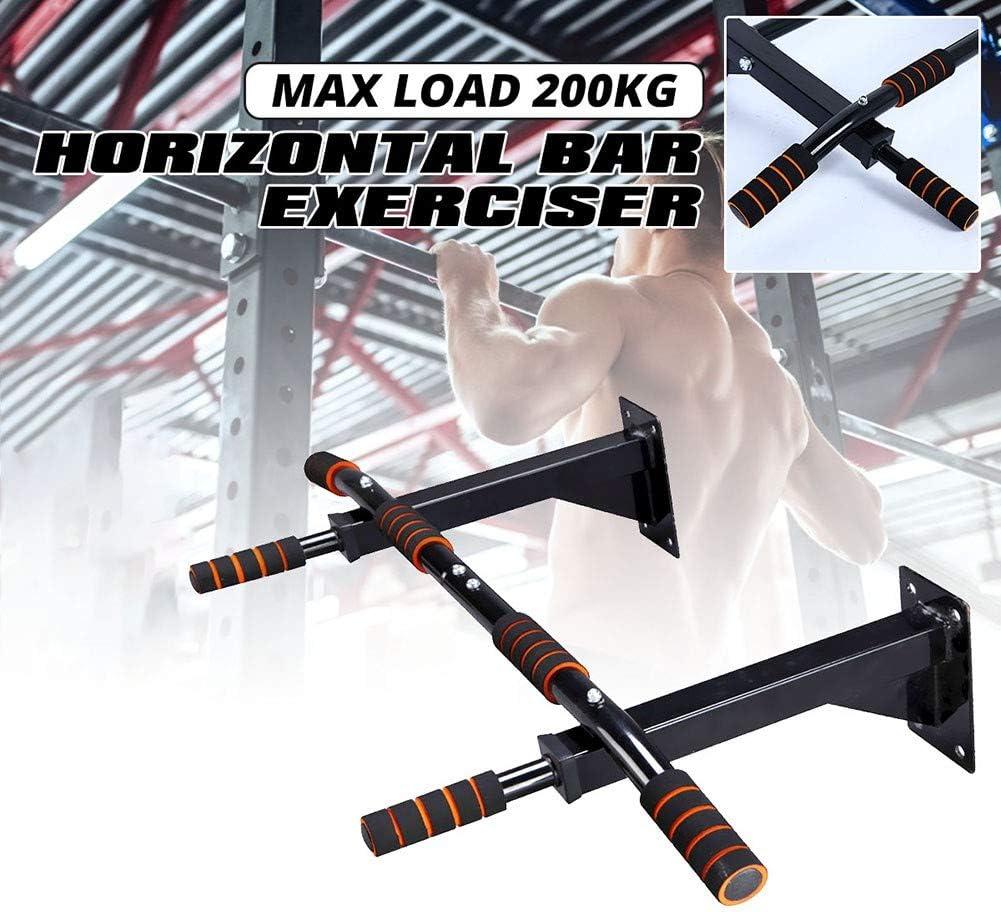 LJBOZ Barra Trazioni a Muro Multifunzione Sbarra Perfetto per Trazioni alla Sbarra e Muscle-up Barra per Trazioni Interna