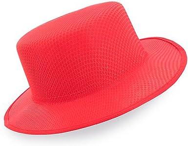 Lote de 20 Sombreros Rojo ala Ancha Panama - Ideal para Animar a la Selección Española. Animar a España en el Mundial de Fútbol: Amazon.es: Ropa y accesorios