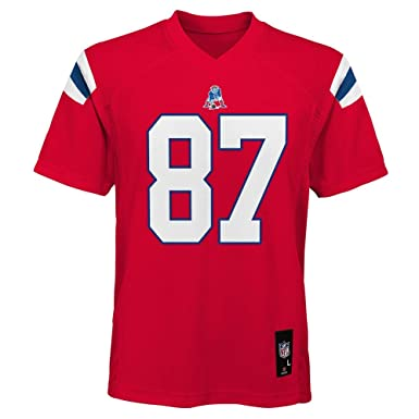 53773a27f Rob Gronkowski New England Patriots NFL Youth Red Alternate Mid-Tier Jersey  (Youth Small