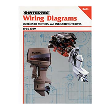 amazon com: 1 - clymer wiring diagrams outboard motors and  inboard/outdrives (1956-1989): everything else