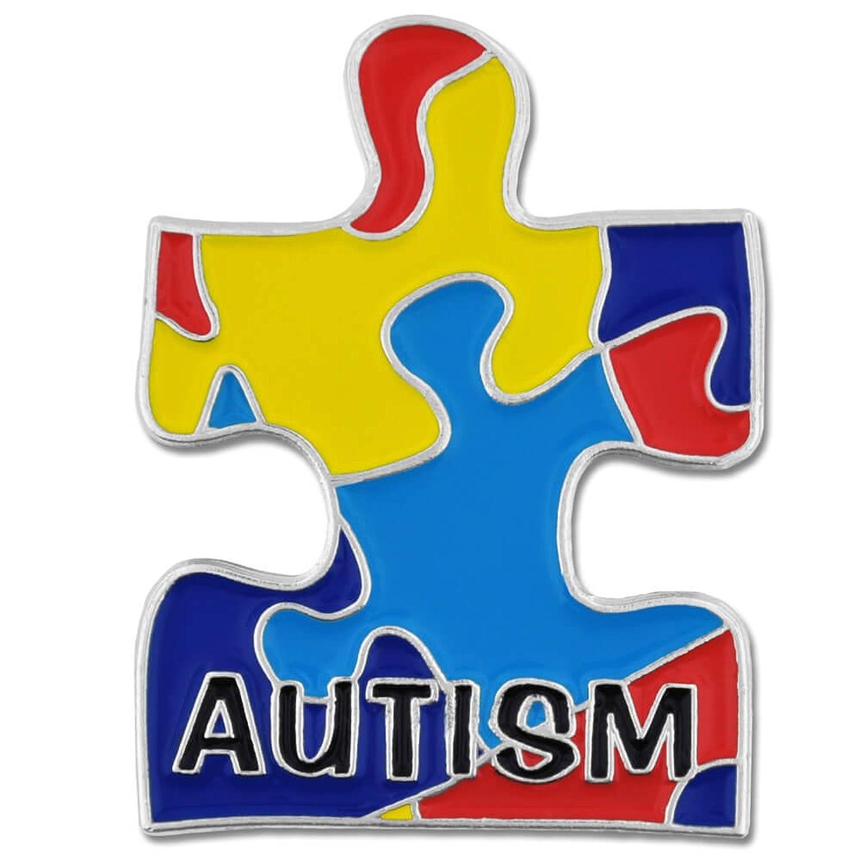 Amazon pinmarts autism awarness multi color puzzle piece amazon pinmarts autism awarness multi color puzzle piece enamel lapel pin 1h x 34w jewelry biocorpaavc Gallery