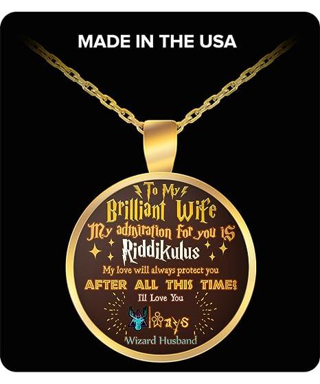 The Happy Life Club Harry Potter - Collar de Pareja para mi ...
