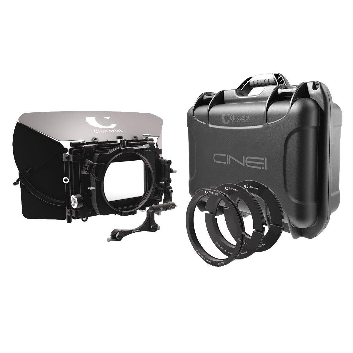 【国内正規品】Chrosziel クロジール Swing-Away MatteBox Kit MB 565 Double for 19 rods 565-05-KIT-19-SW 565-05-KIT-19-SW  B0758CP32M