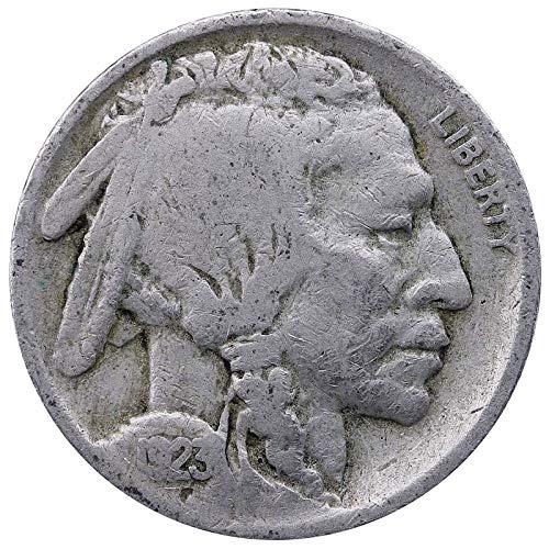 1923 P Buffalo Nickel Good
