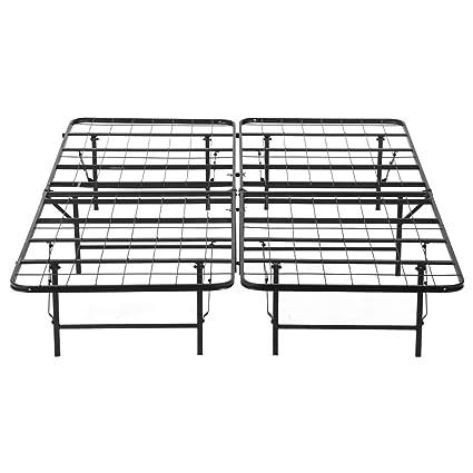 LANGRIA alambre hierro base colchón, cama de plataforma marco ...