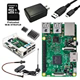 Vilros Raspberry Pi Aviation Weather & Traffic Receiver Kit----Includes Raspberry Pi 3 Model B--Mini ADS-B Receiver Set--Micro SD Card Pre-loaded with Stratux Software & More