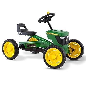 Berg Vehículo Go Kart infantil Buzzy John Deere (24.30.11.00): Amazon.es: Juguetes y juegos