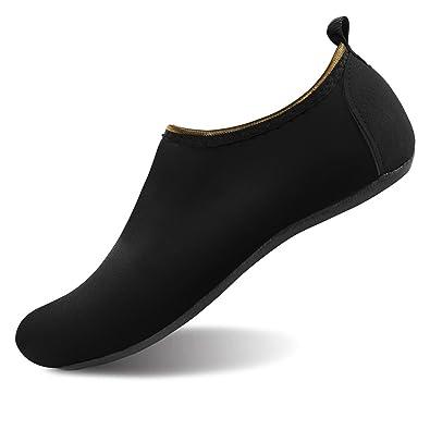 657fa5c7cd9 JOINFREE Women's Men's Kid Summer Water Shoes Barefoot Shoe Quick Dry Aqua  Socks Yoga Size: