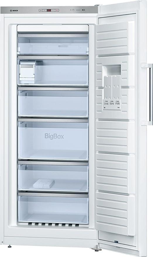Bosch GSN51AW41 - Congelador (Vertical, Independiente, Acero ...