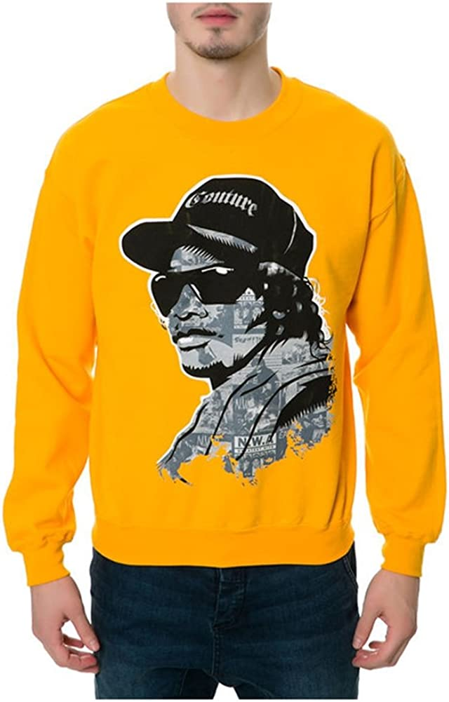 Small Yellow DOPE Mens N.W.A The Eazy-e Sweatshirt