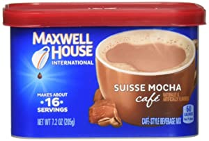 Maxwell House International Cafe Suisse Mocha Cafe (434580) 7.2 oz (Pack of 8)
