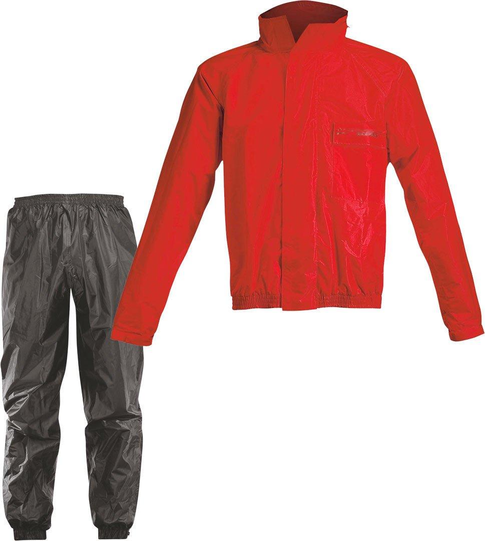 Acerbis Regen-Set Rain Suit Logo Rot Gr. 3XL