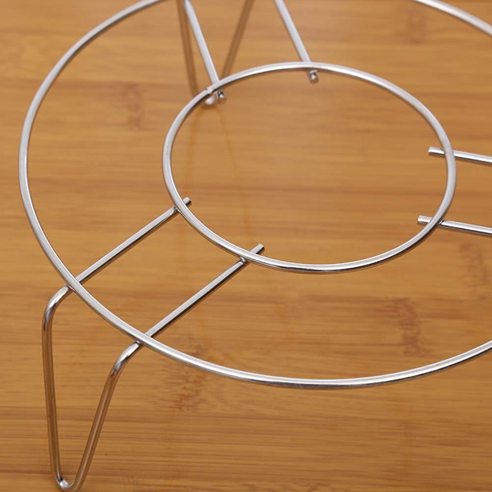 BESTONZON Cesta vaporera de acero inoxidable accesorios para ollas y para olla a presi/ón sartenes