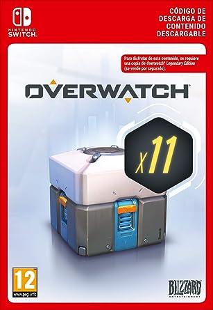 Overwatch 11 Loot Boxes   Nintendo Switch - Código de descarga ...