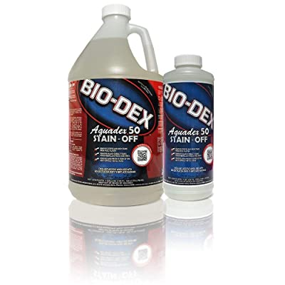 Bio-Dex Aquadex 50 Stain-Off (1 qt) : Swimming Pool Stain Removers : Garden & Outdoor