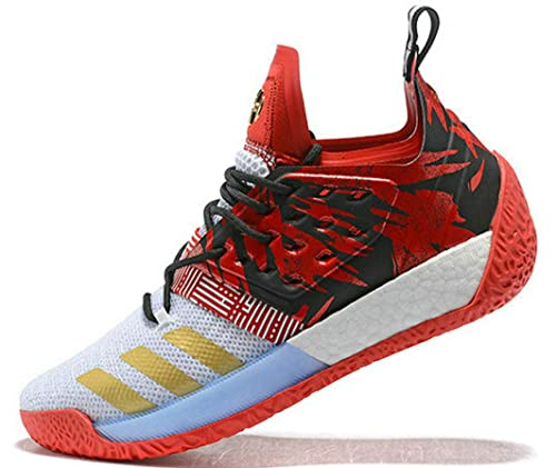 Red Harden Zapatos Para Baloncesto Jam Traffic Vol De White 2 Gold qISIPCnw7x