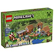 LEGO Minecraft 21128 The Village Building Kit (1600 Piece)