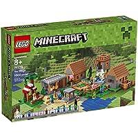 LEGO Minecraft 21128la aldea Building Kit, Rojo