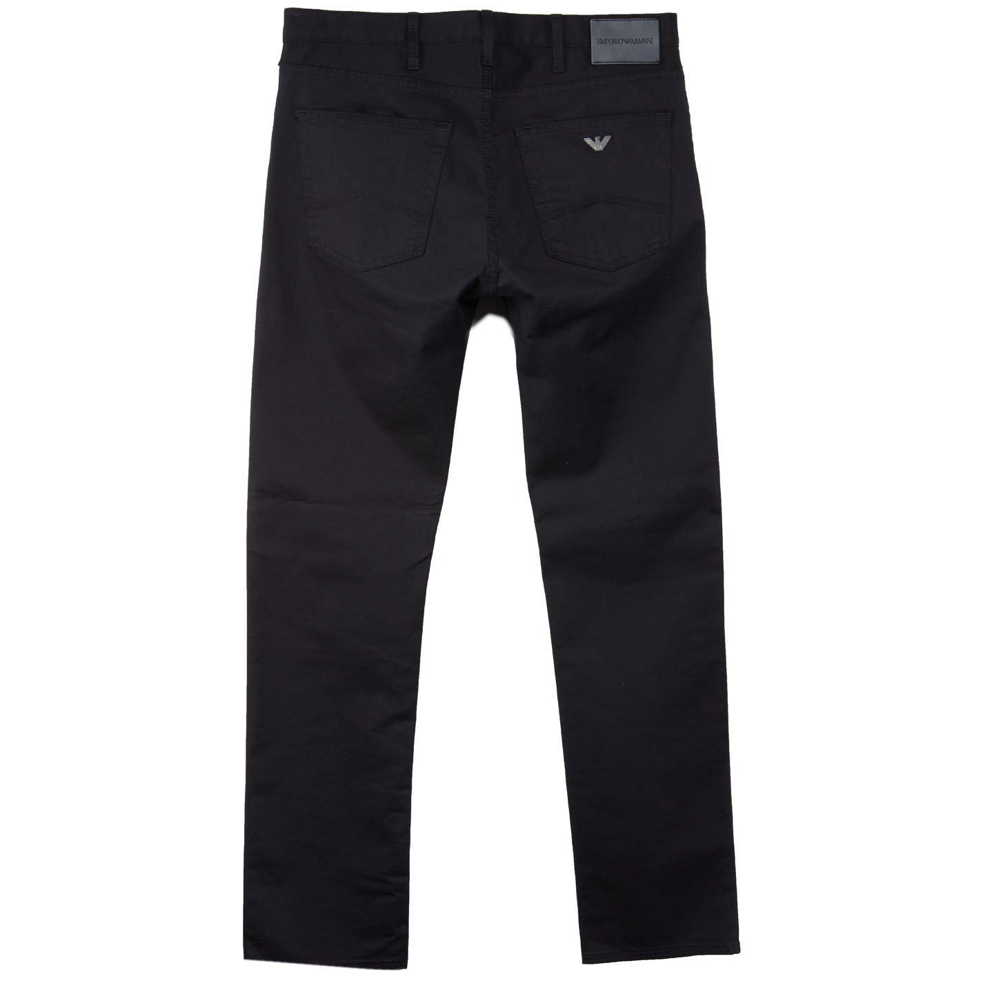 Emporio Armani Hombres J45 slim fit jeans Negro 46 Regular ...