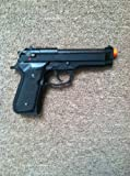 KWA Full Metal M9 Tactical PTP Airsoft Pistol Gas Blowback