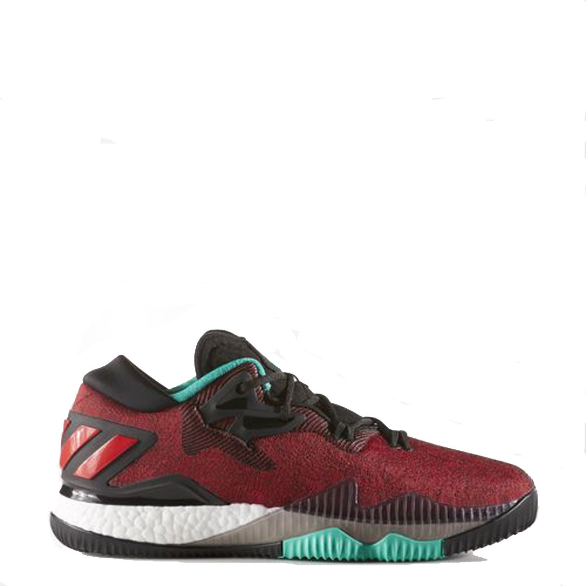 pretty cheap on feet images of cute Adidas Men's | Crazylight Boost Low Basketball Shoes, Black/White ...