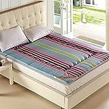 All cotton tatami mattress padded mattress student dormitory mat-G 150x200cm(59x79inch)