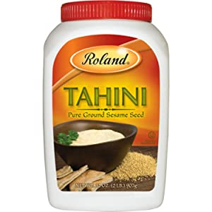Roland Foods Tahini From Pure Ground Sesame Seed, Specialty Imported Food, 2-Pound Jar