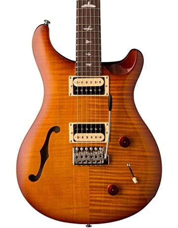 PRS Paul Reed Smith SE Custom 22 Semi-Hollow Electric Guitar with Gig Bag,