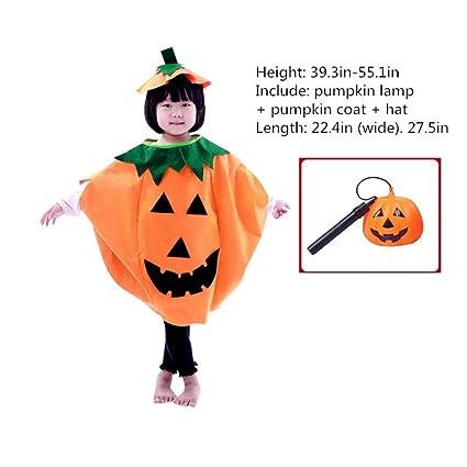 Máscaras de Halloween los niños disfraz para adulto Gorra de espectáculo de danza disfraz de calabaza
