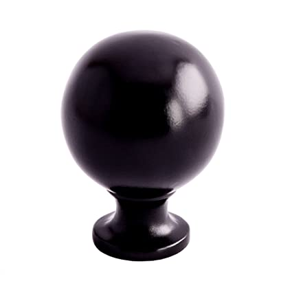 black kitchen knobs farmhouse style southern hills black cabinet knobs pack of round ball kitchen hardware knobs
