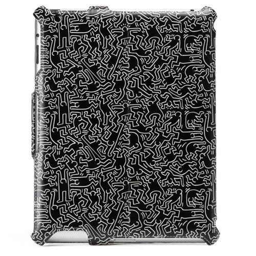 Keith Haring Collection Flip Cover for iPad2/iPad (3rd Gen.) People/Black by Original Design