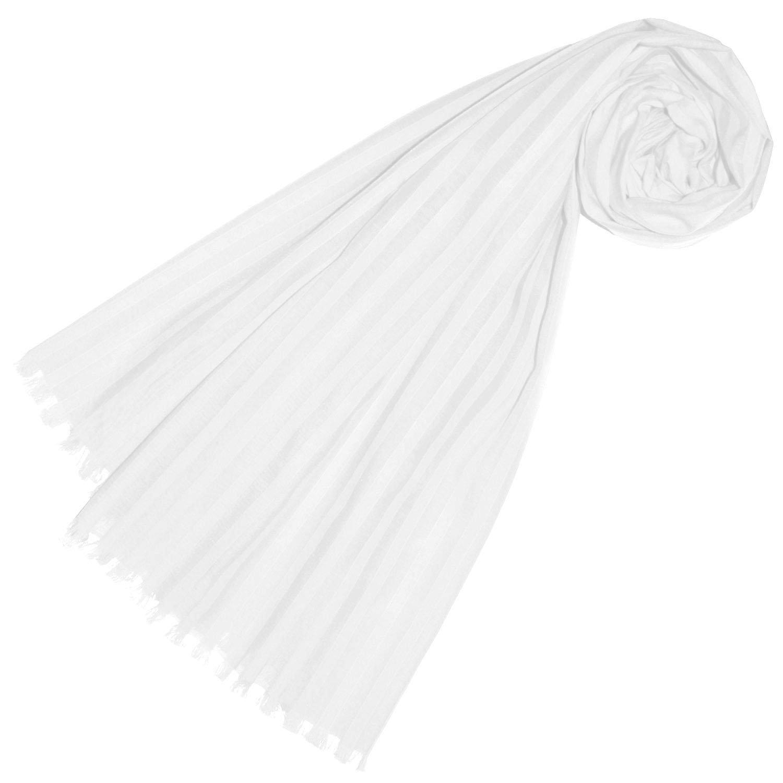 e16d276c83430b Schals LORENZO CANA Herrenschal aus feinster Baumwolle mit Seide aufwändig  jacquardgewebte dezente Webstreifen Naturfaser Schaltuch Tuch ...