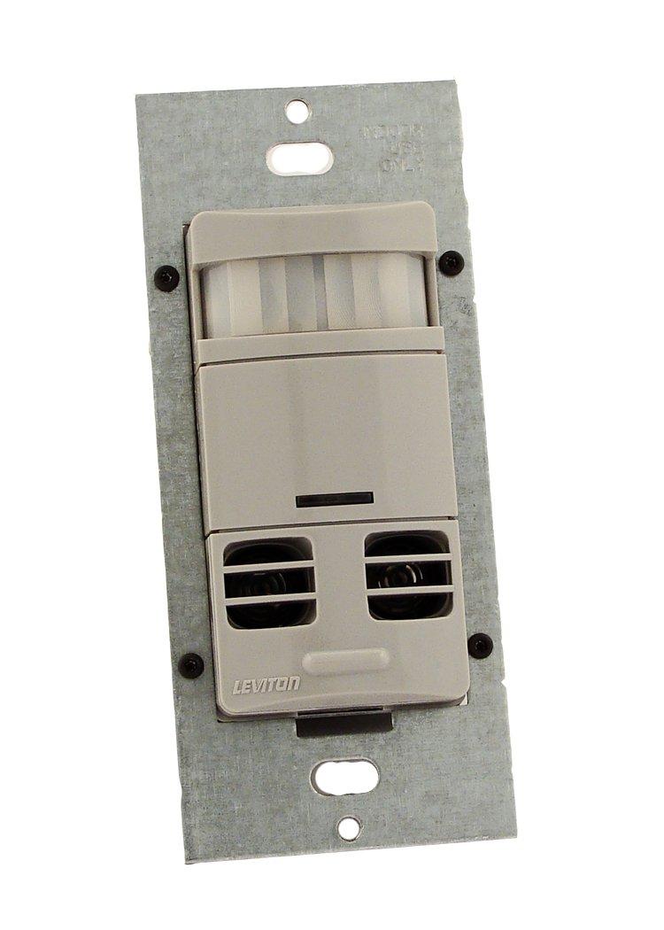 Leviton OSSMT-GDI Ultrasonic/Infrared, Multi-Technology Wall ...