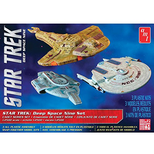 AMT 1:2500 Star Trek Cadet Series Deep Space Nine Set Plastic Model Kit #764