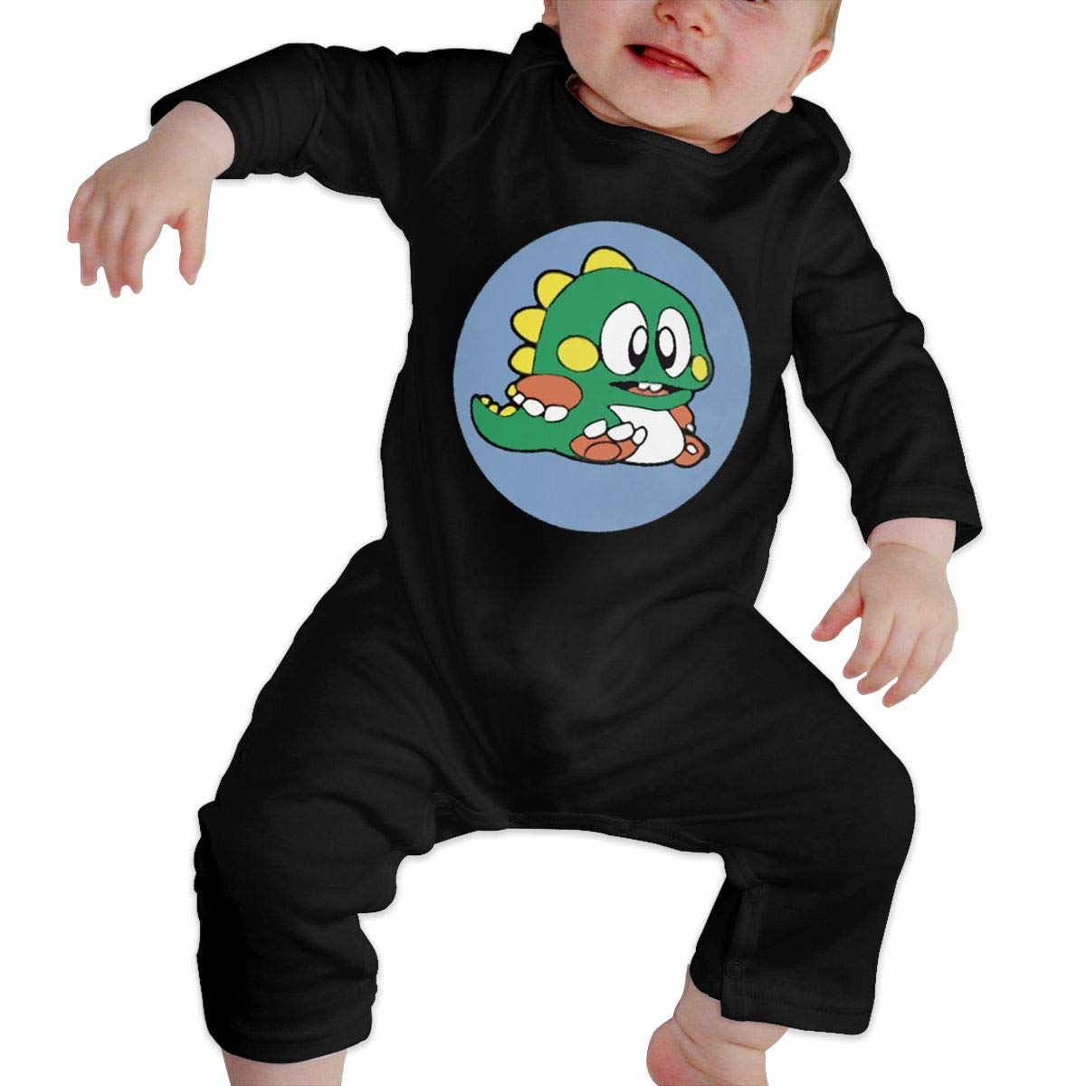 Fasenix Bubble Bobble Newborn Baby Boy Girl Romper Jumpsuit Long Sleeve Bodysuit Overalls Outfits Clothes