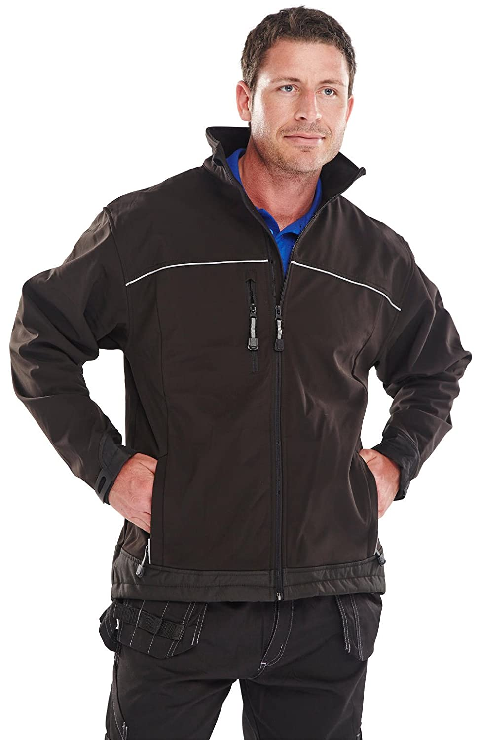 B SOFT SHELL JACKET