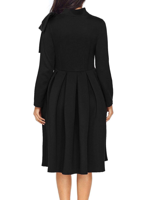 5b3b748f1f AlvaQ Fall Cheap Graduation Dresses for Women Party 2017 Evening Night  Elegant Club Skater Midi Dress at Amazon Women s Clothing store