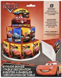 Unique Disney Cars Favor Box Centerpiece Decoration for 8
