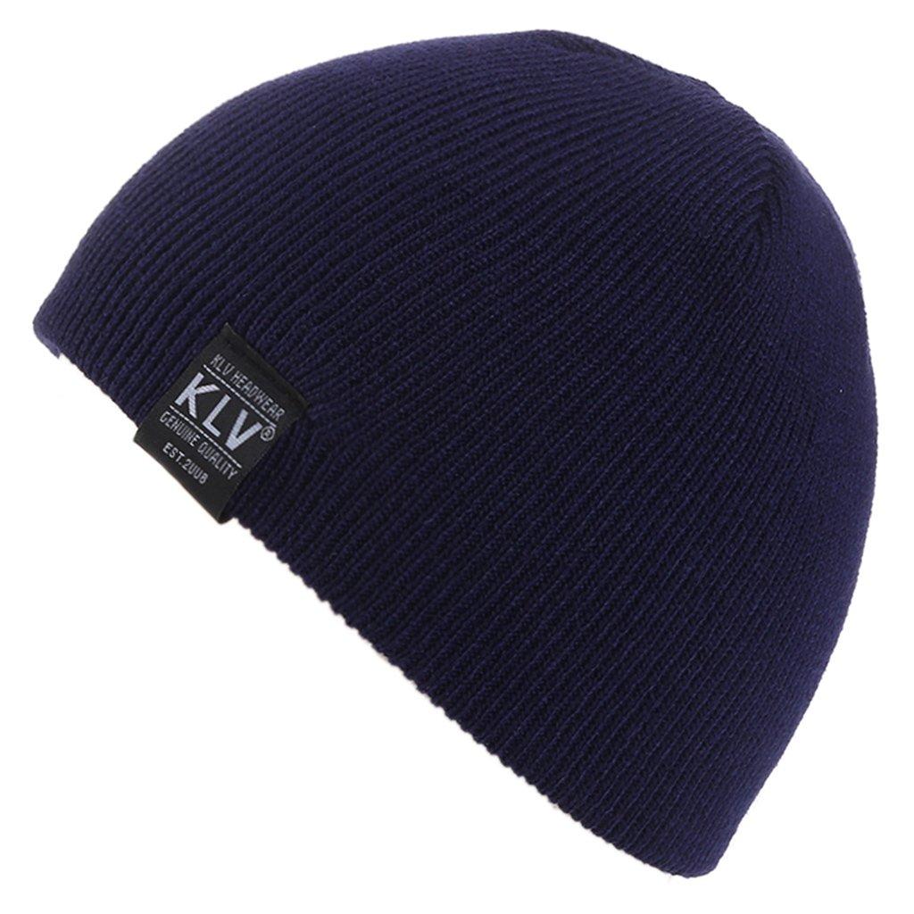 mimgoキッズ子供男の子冬帽子ニットビーニー帽子耳カバー2 – 9年オールズモビル  ダークブルー B0769HB3F3
