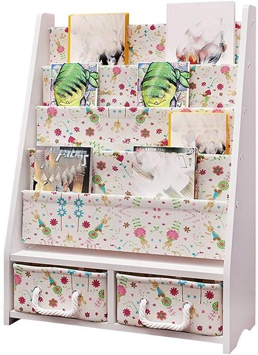 Gaoqqi Estanterias Infantiles Con Cajon 1tier Toy Shelf Estanteria