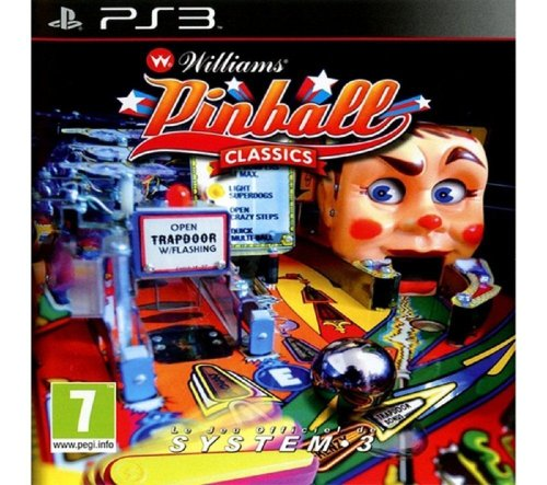 Williams Pinball Classics [Playstation 3, PS3] New
