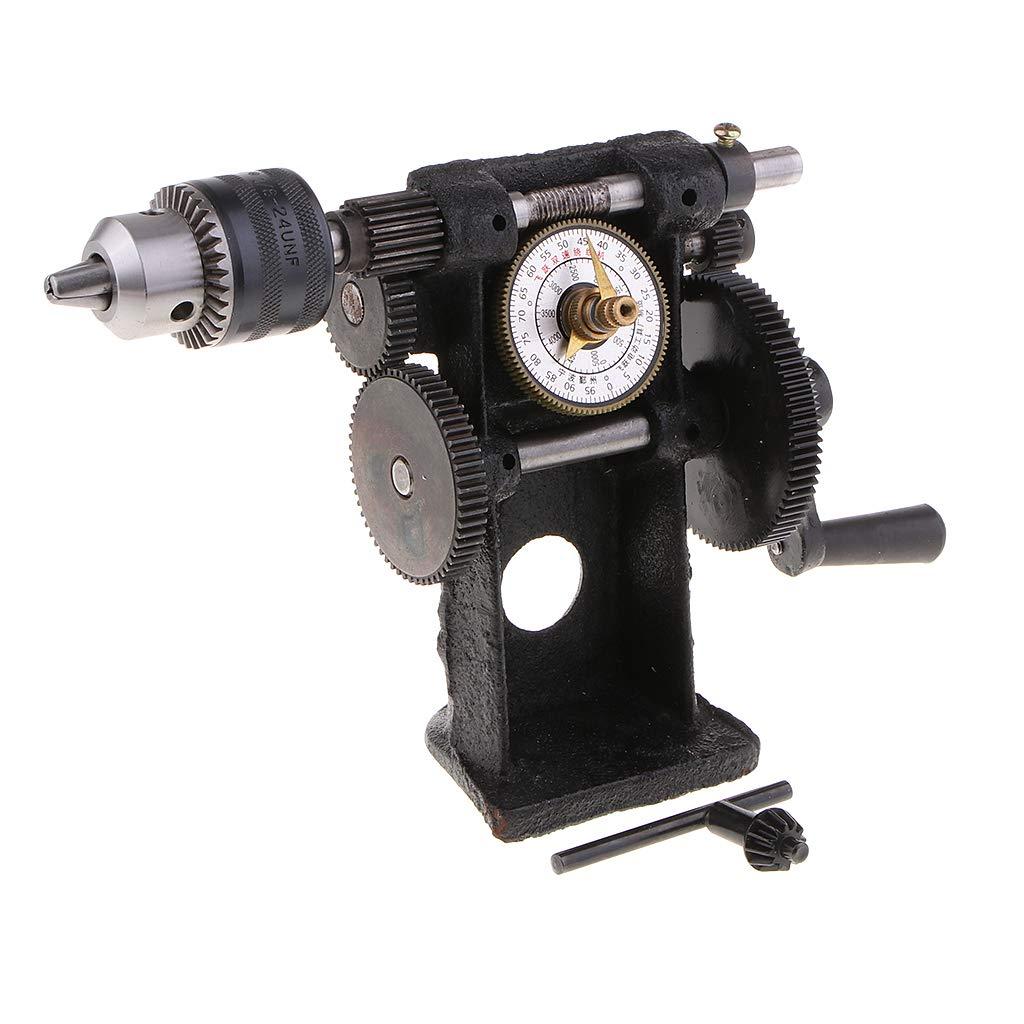0.6-6mm sharprepublic Devanadera de Cuenta Manual M/áquina de Bobina de Doble Uso Enrollador de Cable
