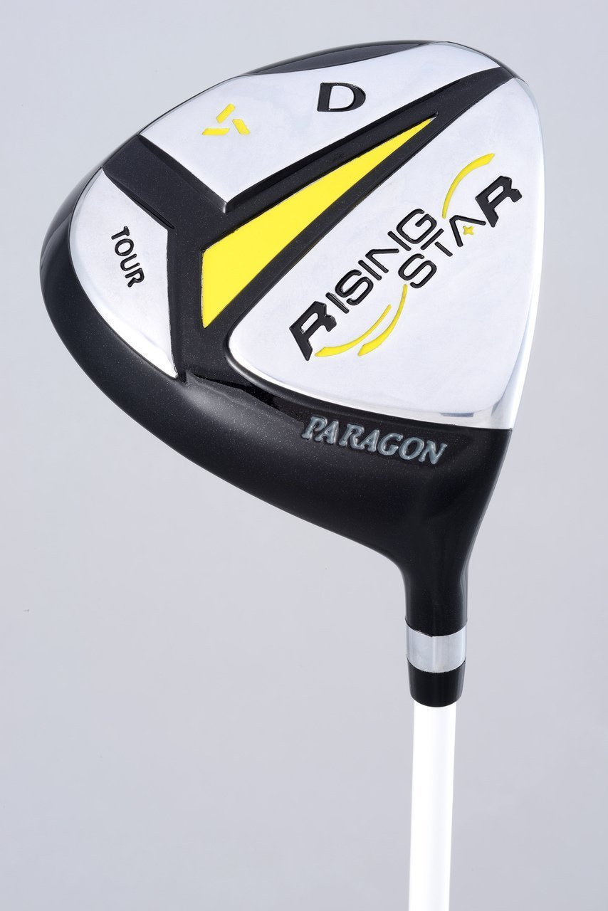 Paragon Rising Star Kids Golf Clubs Set / Ages 5-7 Yellow With Hat / Left-Hand by Paragon (Image #2)