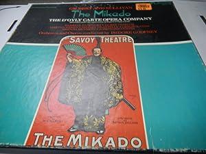 Gilbert and Sullivan the Mikado the D'oyly Carte Opera Company (Box Set)
